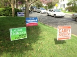 Vienna Virginia Council Election Signs
