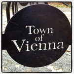Vienna Virginia Community Center bike rack