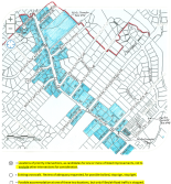NEVCA Beulah Road crossing study request map
