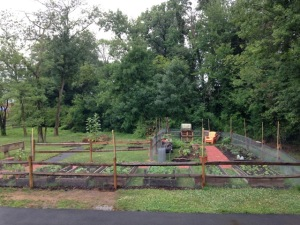 Vienna VA Community Garden Fence