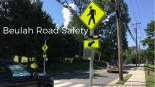 RRFBs on Beulah Road at MacArthur Ave NE crosswalk